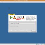 Haiku OS Installing